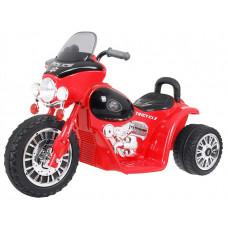 Detská elektrická trojkolka Chopper - červená Preview