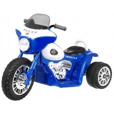 Detská elektrická trojkolka Chopper - modrá Preview