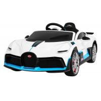 Elektrické autíčko BUGATTI Divo - biele