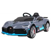 Elektrické autíčko BUGATTI Divo - sivé