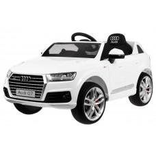 AUDI Q7 2.4G elektrické autíčko lakované prevedenie 2019 - Biele Preview