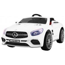 MERCEDES AMG SL65 elektrické autíčko - Biele Preview