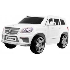 MERCEDES Benz GL63 elektrické autíčko lakované prevedenie - biele Preview