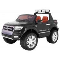 Elektrické autíčko lakované FORD Ranger 4x4 FaceLifting - čierne