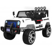 Inlea4Fun Elektrické autíčko RAPTOR DRIFTER Drive 4X4 - biele