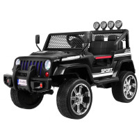 Inlea4Fun Elektrické autíčko RAPTOR DRIFTER Drive 4X4 - čierne