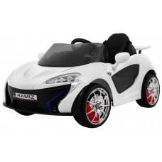 Elektrické autíčko Small Racer - biele Preview