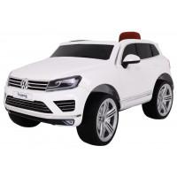 Volkswagen Touareg elektrické autíčko lakované prevedenie - Biele