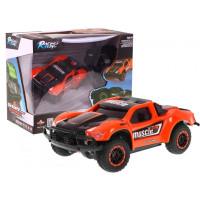 Inlea4Fun Rally Racing autíčko na diaľkové ovládanie oranžové