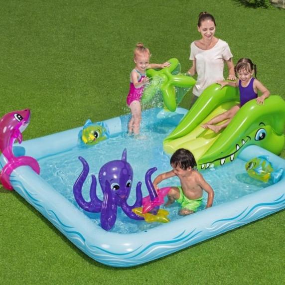 BESTWAY detský bazén AKVARIUM + príslušenstvá 53052