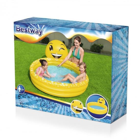 BESTWAY detský bazén Šťastný emotikón 152 x 51 cm 53081