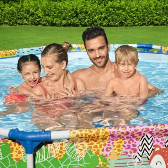 BESTWAY Steel Pro rodinný bazén 274 x 66 cm 5612F