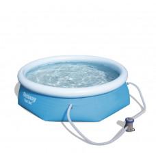 BESTWAY Fast Set samonosný rodinný bazén s kartušovou filtráciou 244 x 66 cm 57268 Preview