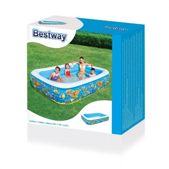Bazén BESTWAY Fantasy Family 305 x 183 x 56 cm (54121)