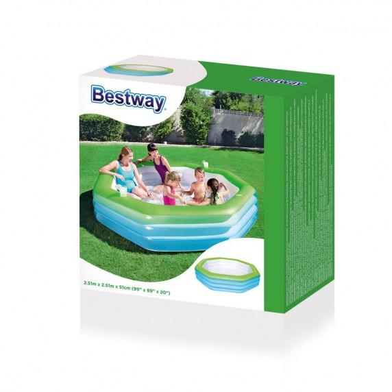 BESTWAY Detský bazén Oktagon 251/251/51cm  (54119)