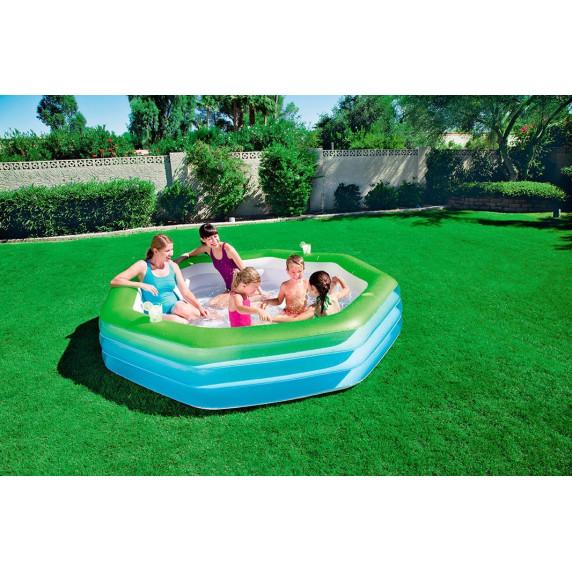 BESTWAY detský bazén Oktagon 251 x 251 x 51 cm 54119