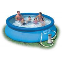 INTEX Easy Set rodinný bazén 366 x 76 cm 28132NP s kartušovou filtráciou