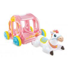 Intex 56514 Nafukovací kočiar pre princeznú s bielym koňom Preview