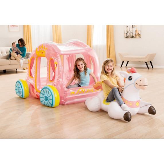 Intex 56514 Nafukovací kočiar pre princeznú s bielym koňom