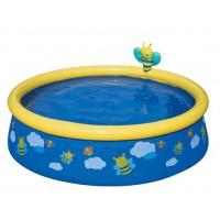 BESTWAY detský bazén veličky + sprcha 57326