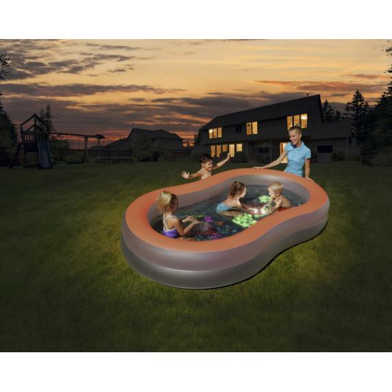 BESTWAY Bazén Doodle Glow 280x157x46cm (54136)