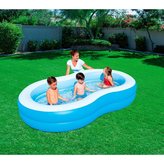BESTWAY detský bazén Lagúna 262 x 157 x 46 cm 54117