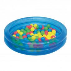 BESTWAY detský bazén s loptičkami modrý 51085