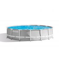 INTEX Prism Frame rodinný bazén s konštrukciou 427 x 107 cm  + kartušová filtrácia 26720NP