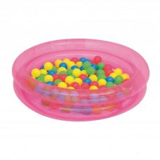 BESTWAY detský bazén s loptičkami ružový 51085 Preview