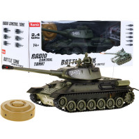 Inlea4Fun RC BATTLE TANK bojový tank T-34 1:28