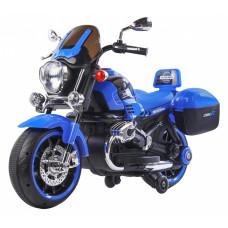 Detská elektrická motorka 1200CR Inlea4Fun SUPER MOTO - modrá Preview