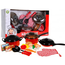 Inlea4Fun Detský riad KITCHEN SET Preview
