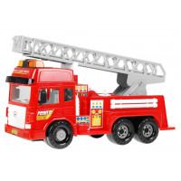 Inlea4Fun FIRE ENGINE Hasičské auto so svetelnými a zvukovými efektmi