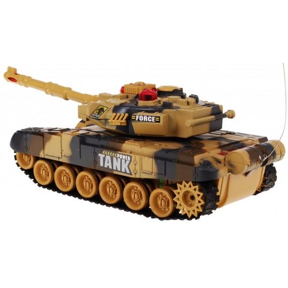RC Tank WAR Yellow 1:36