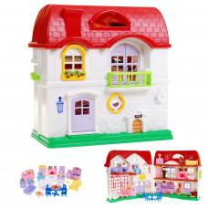 Detský rozkladací domček s nábytkom Inlea4Fun HAPPY FAMILY Preview