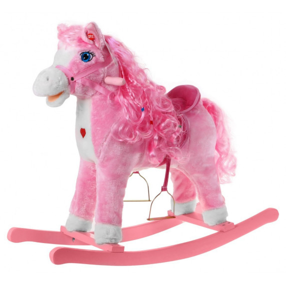 Inlea4Fun hojdací koník Princess Pink