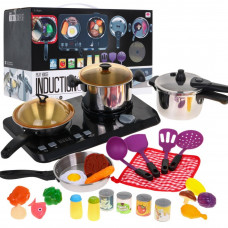Detský riad s 32 doplnkami Inlea4Fun INDUCTION COOKER SET  Preview