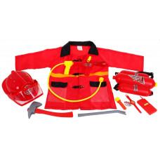 Inlea4Fun FIREFIGHTER Detská hasičská uniforma Preview