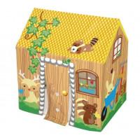 Detský stan BESTWAY 52007  Rozkladací žltý domček  102 x 76 x 114 cm