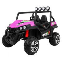 Buggy elektrická štvorkolka 4x4 - ružový