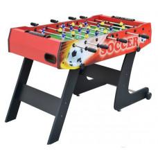 Inlea4Fun Stolný futbal 121 x 61 x 81 cm - červený Preview