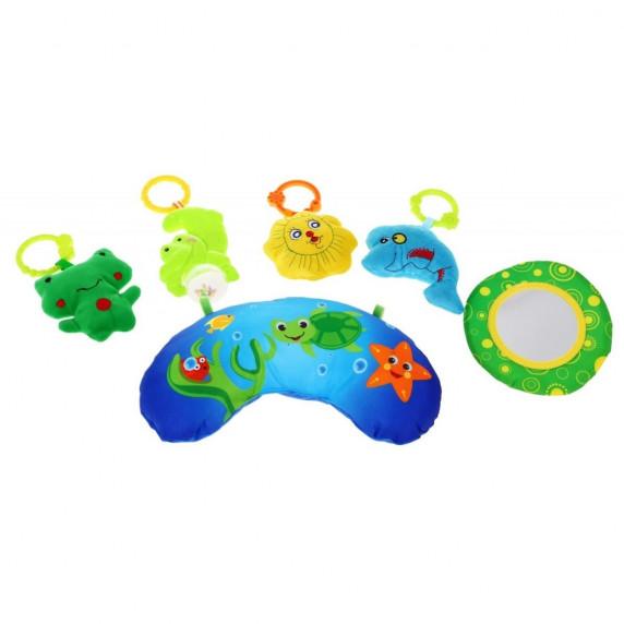 Inlea4Fun MATA Interaktívna hracia deka - modrá