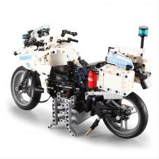 Stavebnica policajná motorka 539 ks Inlea4Fun DETECH Preview