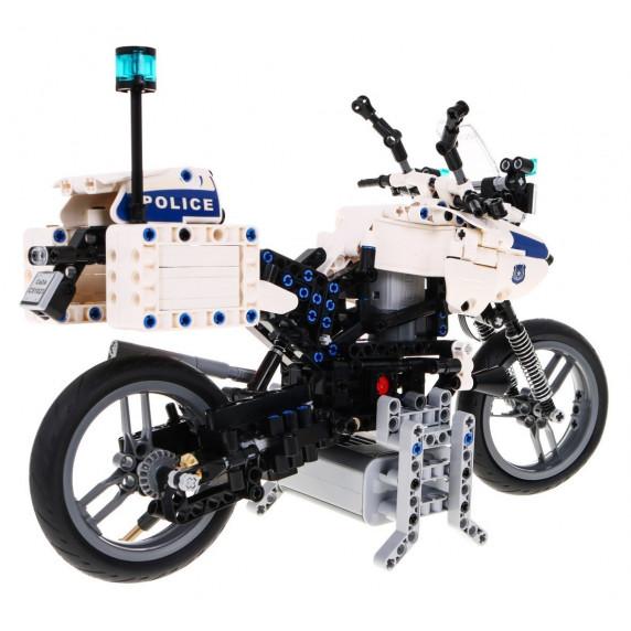 Stavebnica policajná motorka 539 ks Inlea4Fun DETECH