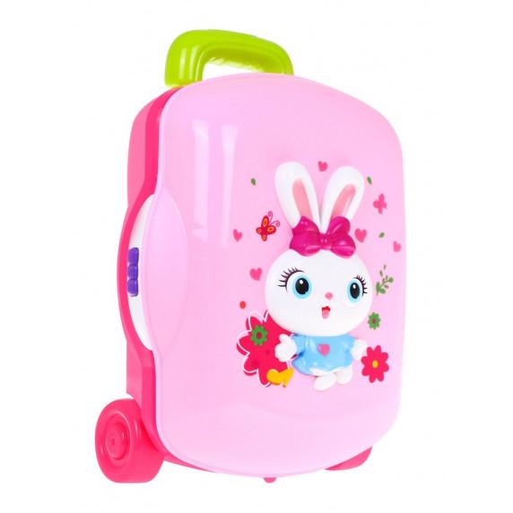 Kozmetický kufrík s doplnkami HOLA so svetelnými a zvukovými efektmi