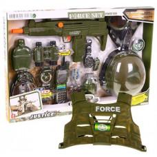 Inlea4Fun FORCE SET Vojenský set s vestou Preview