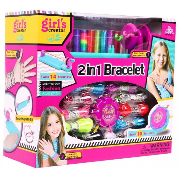 Inlea4Fun Bracelet 2in1 sada na výrobu náramkov