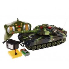 RC Tank WAR Green 1:36 Preview