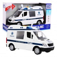 Inlea4Fun policajné auto City Service 22 cm