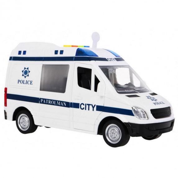 Policajné auto Inlea4Fun City Service 22 cm